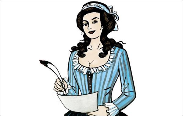 Courtisane, révolutionnaire et philosophe, très en avance sur son temps, elle milite pour l'abolition de l'esclavage (création de deux pièces de théâtre sur le sujet), pour les droits des femmes, pour la prise en charge par la société des plus démunis. Elle sera guillotinée en 1793. Qui est-ce ?