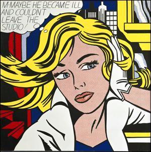 Quel artiste Pop Art a peint ce tableau :
