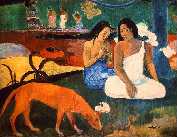 Les femmes de Tahiti ont inspiré :