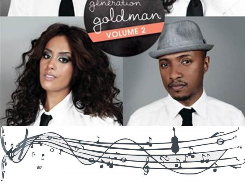 Quel est le premier single de   Génération Goldman 2   et qui l'interprète ?