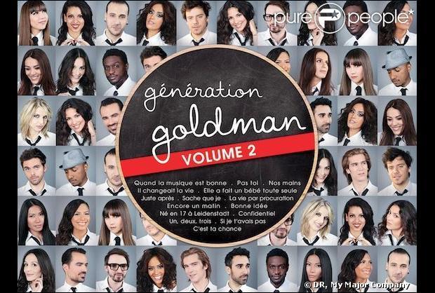 Quand l'album   Génération Goldman 2   est-il sorti ?