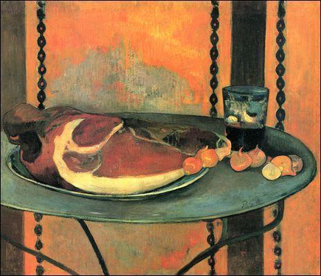 """A quel peintre post-impressionniste, inspirateur des Nabis, doit-on la toile intitulée """"Le jambon"""" ?"""