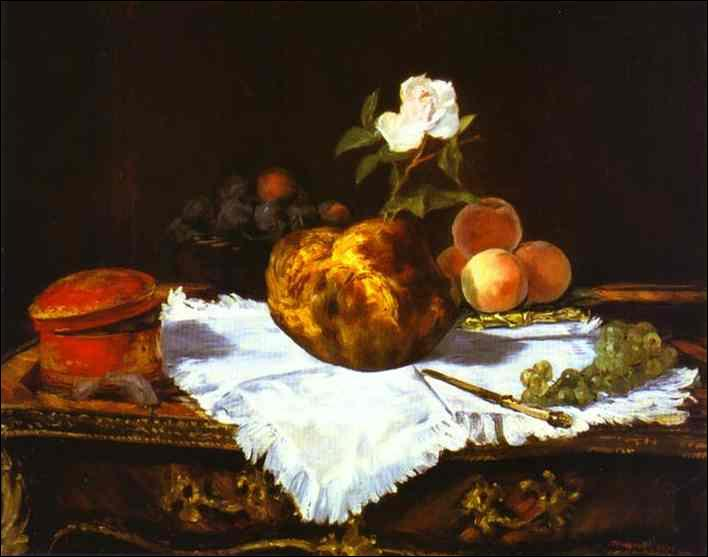 """A quel peintre impressionniste doit-on cette nature morte, """"La brioche"""", réalisée en 1870 ?"""