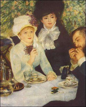 "Qui a peint ""Fin du déjeuner"" en 1879 ?"