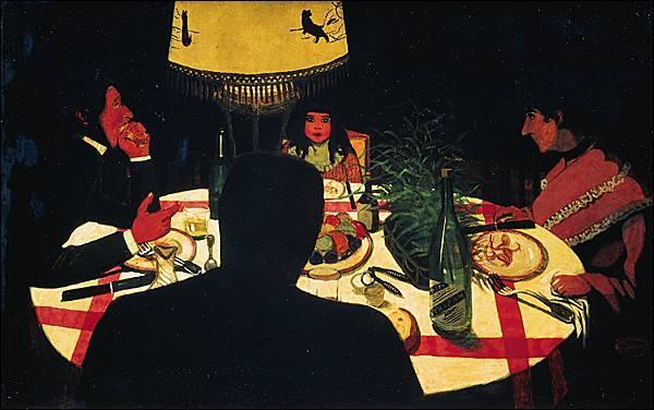 """De quel peintre, appelé par ses amis le """"nabi étranger"""", ce """"Dîner, effet de lampe"""", exposé au musée d'Orsay, est-il l'oeuvre ?"""