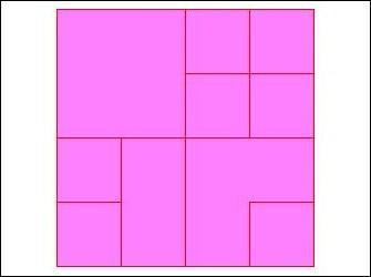 Combien y a-t-il de carrés entièrement dessinés dans la figure ci-contre ?