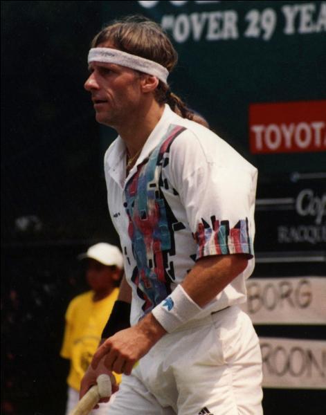 Björn Borg a gagné 3 fois l'US Open.