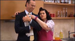 Que dit tout le temps Ramallo à Olga quand elle veut le toucher ?
