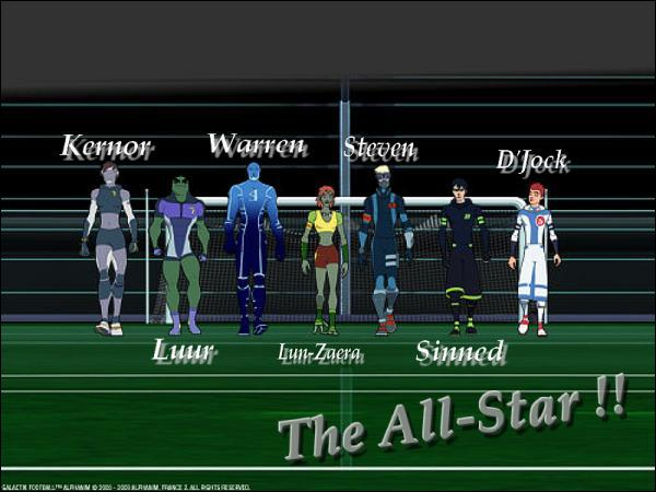 Qui marque un seul but durant le match all-stars (saison 2) ?