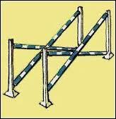Cet obstacle est un double croisillon.