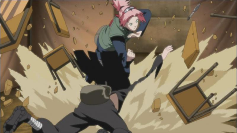 En qui était transformé Zetsu pour tuer Sakura aux unités médicales ?