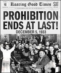 En janvier 1919, le 18e amendement à la Constitution des États-Unis est adopté : l'alcool est prohibé sur la totalité du territoire du pays. Sous quel président la prohibition sera-t-elle supprimée ?