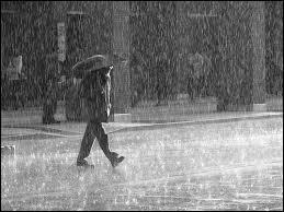 Ce match vous a donné des envies, il faut que vous alliez courir. Vous décidez alors de sortir... mais il pleut. Quelle chanson pouvez-vous alors chanter ?
