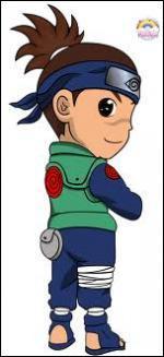 Je suis professeur à l'académie ninja et je fus le premier ami de Naruto. Comment me nomme-je ?