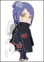 Je suis la seule femme de l'Akatsuki. Je viens d'Ame & manipule le papier. Comment me nomme-je ?