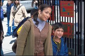 Le premier film dans lequel il a joué s'appelle «Coup de foudre à Manhattan», dans lequel il était en compagnie de Jenifer Lopez :