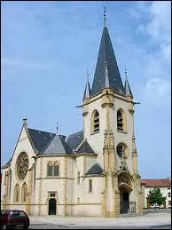 Nous sommes à Courcelles-Chaussy (Lorraine), commune située dans le département ...