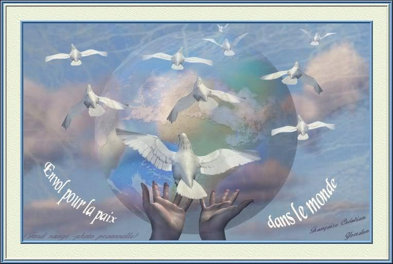 En 1977, qui voulait  que la paix soit sur le monde...   et chantait  donnez-nous mille colombes.   ?