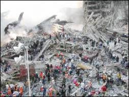 Comment a-t-on appelé le site dévasté de New York après les attentats ?