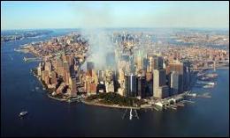 Quel quartier de New York a été touché en plein coeur ?