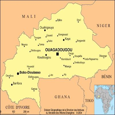 Quel personnage mentionne la ville de Ouagadougou, située au Burkina Faso ?