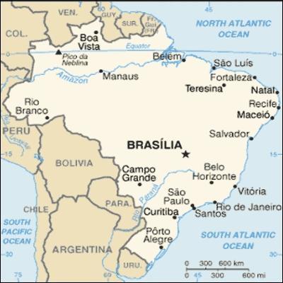 Qui n'est pas originaire du Brésil ?