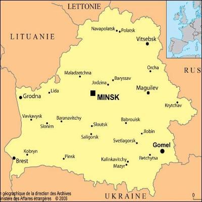 Hagrid et Madame Maxime ont eu un  léger désagrément avec un vampire , à Minsk. Minsk, oui, mais c'est dans quel pays ?