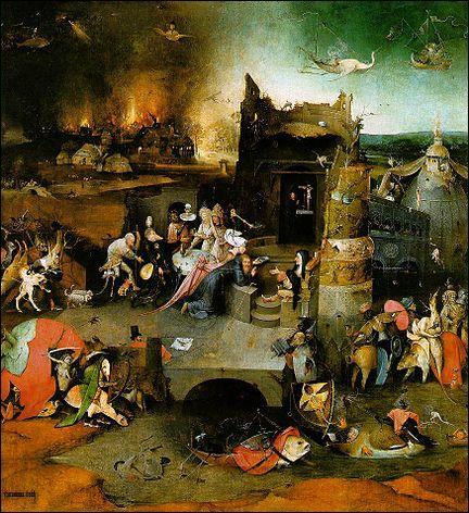 Antoine subit la tentation du Diable sous la forme de visions des voluptés terrestres. Quel peintre réalisa un triptyque conservé au Museu Nacional de Arte Antiga à Lisbonne ?