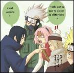 Qui Itachi a-t-il pris pour Sakura ?