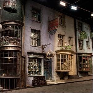 Qui Harry rencontre-t-il chez Madame Guipure alors qu'il fait sa 'journée shopping' (eh oui, même les garçons... ) avec son copain Hagrid ?