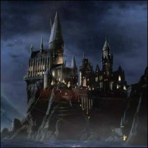 Une fois arrivé à la gare de Pré-au-Lard, comment Harry se rend-il au château ?