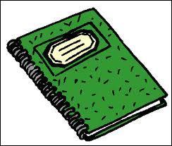 C'est un cahier :
