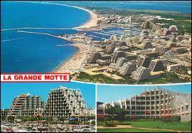 Je pars à La Grande-Motte (Languedoc-Roussillon), connue pour ses immeubles en forme de pyramide. La ville se situe dans le département ...