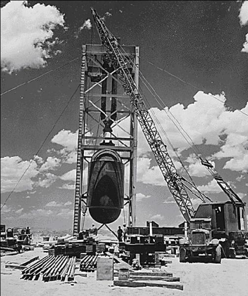 A votre avis combien de bombes atomiques explosèrent pendant la période de la Seconde Guerre mondiale ?