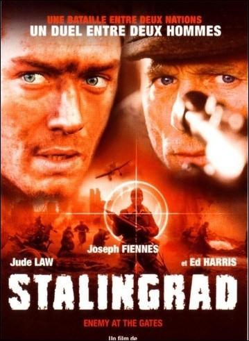 Stalingrad  est un film de 2001 qui retrace  la Seconde Guerre Mondiale ( en septembre 1942) , Hitler envisage d'envahir Stalingrad  mais qui a réalisé ce film ?