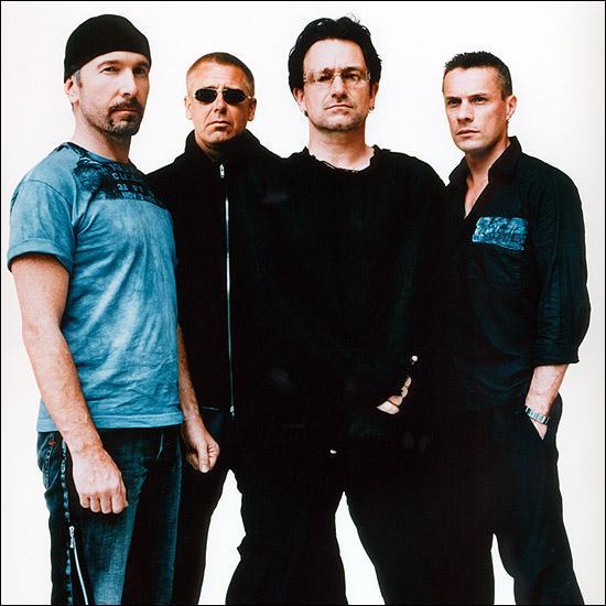 De quel groupe Bono (Paul Hewson) est-il le chanteur ?