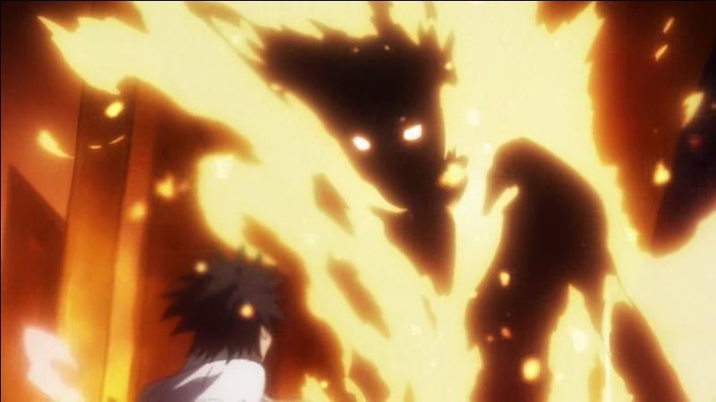 Innocentius est une créature de feu invoquée par Stiyl Magnus, atteignant une chaleur d'environ...