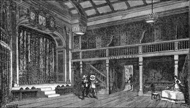 En 1543, il faut encore déménager et la troupe s'installe dans un tout nouvel hôtel qui sera célèbre pendant des siècles. C'est :