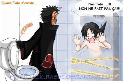 Qui va faire une grosse bêtise au pauvre Itachi qui prend sa douche ?