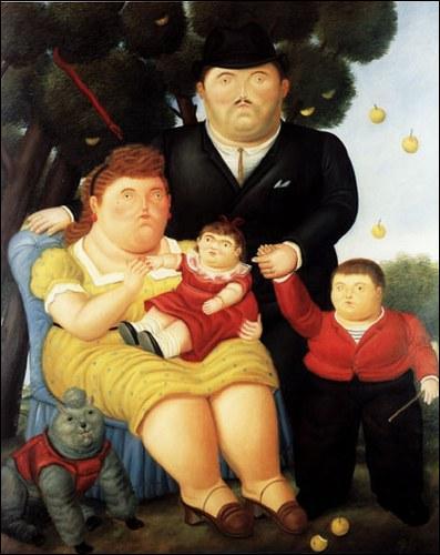 Quel peintre latino américain a pour particularité de représenter dans ses tableaux, des personnages ou des objets aux formes rondes et généreuses ?