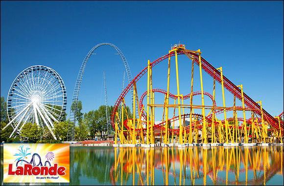 La Ronde est un immense parc d'attractions, situé sur l'île de Sainte-Hélène, à :