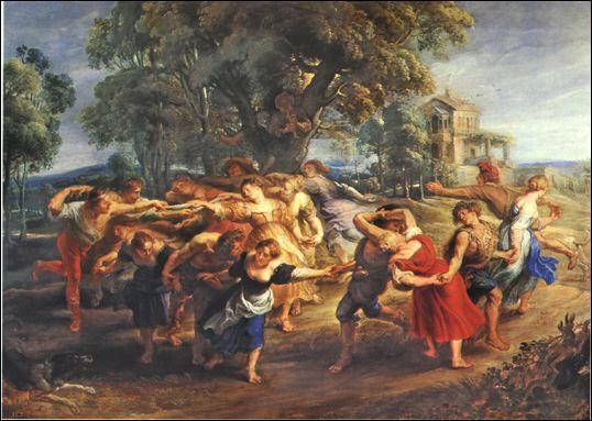 Quel peintre flamand du 17e siècle, a réalisé ce tableau intitulé  La ronde paysanne  ?