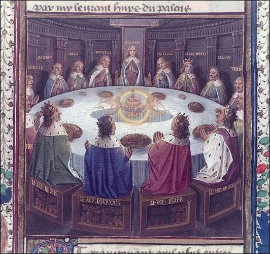 La Table Ronde est une table légendaire autour de laquelle se réunissent, selon la légende, un roi et ses Chevaliers. Qui est ce roi ?