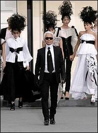 De quelle maison de haute couture Karl Lagerfeld est-il le directeur artistique depuis 1983 ?
