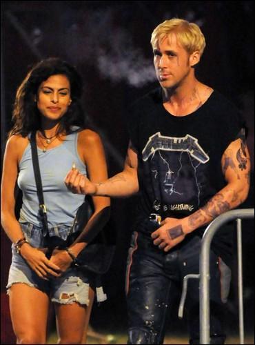 Sur le tournage de quel film Ryan Gosling a-t-il rencontré sa dulcinée, Eva Mendes ?