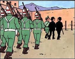 Dans  Tintin et les Picaros  le général Alcazar ordonne qu'on téléphone à la prison pour annuler l'ordre d'exécution des Dupondt mais cela ne se passe pas comme prévu. Qu'est-ce qui ne va pas ?
