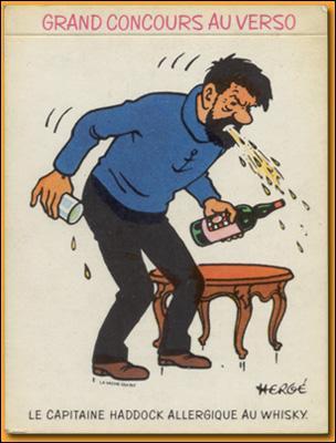 Encore dans  les Picaros , quelle est la marque de whisky dont ont fait largement la publicité ?