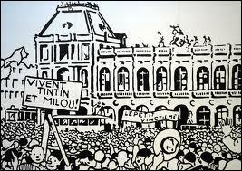 Quelle ville traverse Tintin et Milou dans le train qui les ramène à Bruxelles dans  Tintin au Pays des Soviets  ?