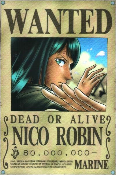 Lequel de ces personnages est battu par Nico Robin ?