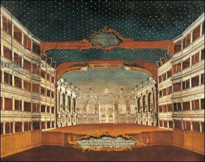 Un an plus tard, Verdi remanie l'opéra et le donne, sur l'insistance de son librettiste et de son éditeur, au Théâtre San Benedetto. Où se situe celui-ci ?